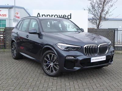 used BMW X5 DIESEL ESTATE xDrive30d M Sport 5dr Auto