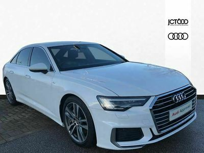 used Audi A6 45 TFSI Quattro S Line 4dr S Tronic saloon