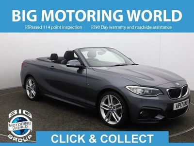 used BMW 218 2 Series D M SPORT for sale | Big Motoring World