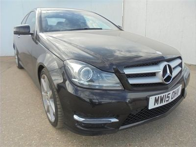 used Mercedes C220 C CLASSCDI AMG Sport Edition 2dr Auto Black Automatic Diesel