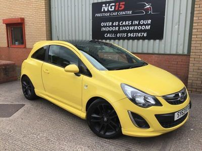 used Vauxhall Corsa 1.2 LIMITED EDITION 3d 83 BHP *FSH *ZERO DEPO FINANCE