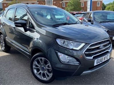 used Ford Ecosport 1.0T ECOBOOST 125PS TITANIUM 5dr