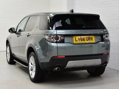 used Land Rover Discovery Sport 2.0 Td4 180 Hse 5Dr Auto suv 2017
