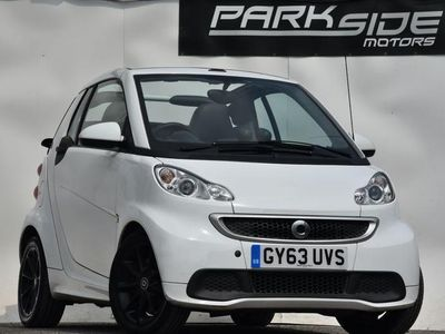 used Smart ForTwo Cabrio 1.0 PASSION MHD 2d 71 BHP