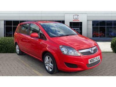 used Vauxhall Zafira 1.8i [120] Exclusiv 5dr