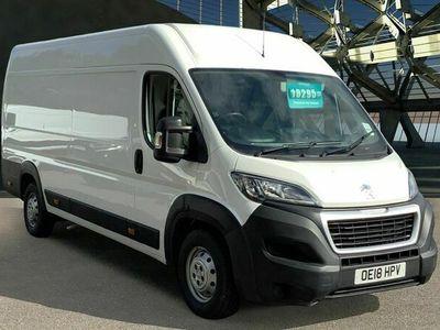 used Peugeot Boxer 2.0 BlueHDi H2 Professional Van 130ps