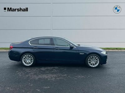 used BMW 520 5 Series d Luxury 4dr Step Auto Saloon 2014
