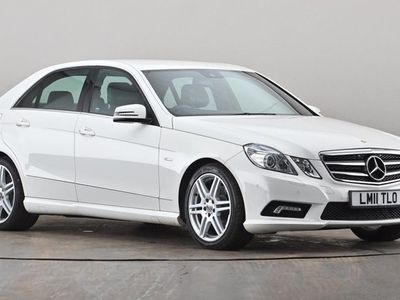 used Mercedes E200 E CLASSCDI BlueEFFICIENCY Sport 4dr Tip Auto White Automatic Diesel