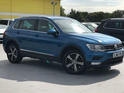 used VW Tiguan 2.0 TDI 150PS SE 4Motion 5dr