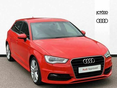 used Audi A3 Sportback 2.0 TDI S Line 5dr S Tronic diesel