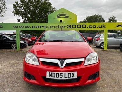 used Vauxhall Tigra PETROL MANUAL CONVERTIBLE 2 DOORS
