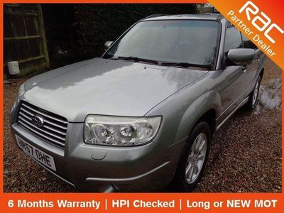 used Subaru Forester 2.0 XC 5dr