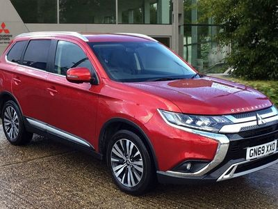 used Mitsubishi Outlander 2.0 MIVEC Exceed CVT 4WD (s/s) 5dr