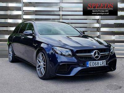used Mercedes E63 AMG E Class 4.0BiTurbo V8 AMG S SpdS MCT 4MATIC+ (s/s) 5dr