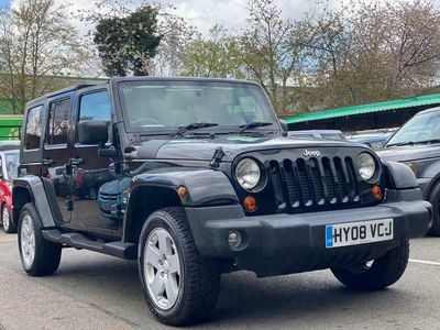 used Jeep Wrangler 2.8 CRD Sahara Unlimited Auto 4WD 4dr