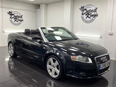 used Audi A4 Cabriolet 2.0T FSI S Line 2dr
