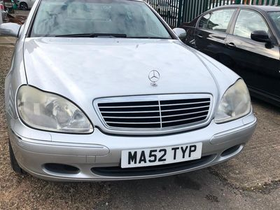 used Mercedes S320 S Class4dr Auto SPARE Key