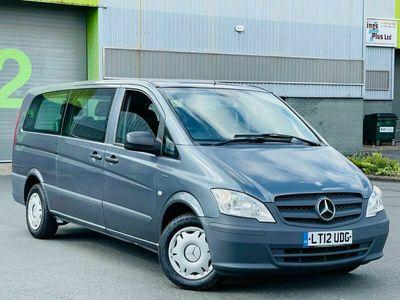 used Mercedes Vito 2.1 110CDI BlueEFFICIENCY Shuttle Compact Bus 5dr (EU5, 8 Seats)