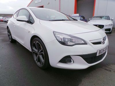 used Vauxhall Astra GTC 1.4i Turbo Limited Edition (s/s) 3dr
