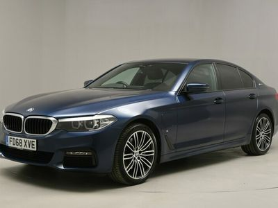 used BMW 530 5 Series e M Sport 4dr Auto - LEATHER - BLUETOOTH AUDIO 2.0