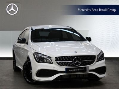 used Mercedes CLA220 CLA ClassAmg Line Night Edition 4Matic 5Dr Tip Auto