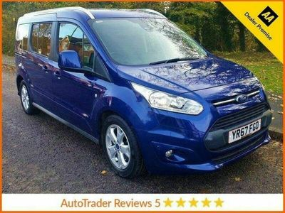 used Ford Tourneo Connect GRAND1.5 TITANIUM TDCI 5d 118 BHP.*7 SEATS*GLASS ROOF* HISTORY*