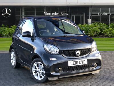 used Smart ForTwo Cabrio 1.0 Passion Premium 2Dr Auto