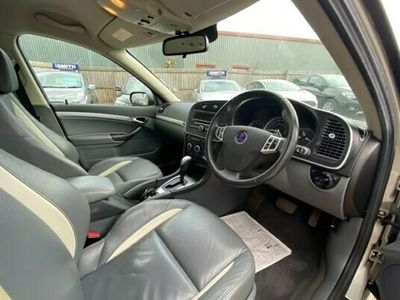 used Saab 9-3 2.0T AERO 5 DOOR ESTATE LOW MILEAGE PART EXCHANGE TO CLEAR LEATHER SEATS DU