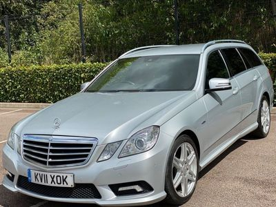 used Mercedes E250 E Class 2.1CDI BlueEFFICIENCY Sport Edition 125 G-Tronic (s/s) 5dr