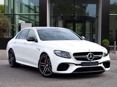 used Mercedes E63S AMG E Class4Matic+ Premium 4dr 9G-Tronic Saloon amg saloon
