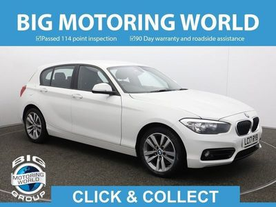 used BMW 118 1 Series D SPORT for sale | Big Motoring World