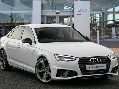 used Audi A4 Black Edition 35 TFSI 150 PS S tronic Saloon