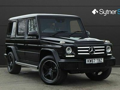 used Mercedes G350 G ClassNight Edition 5dr Tip Auto 3.0