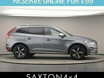 used Volvo XC60 2.4 D4 R-Design Nav Geartronic AWD (s/s) 5dr