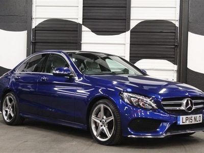 used Mercedes C300 C Class 2.1BT HYBRID AMG LINE PREMIUM PLUS 4d 204 BHP