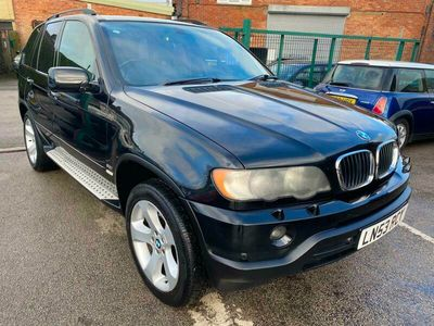 used BMW X5 2003 3.0i Sport 5dr Auto FULL LEATHER BLACK SERVICE HISTORY