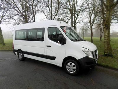used Nissan NV400 Crew Van 9 Seat Mini Bus, Only 28,000 Miles 5-Door