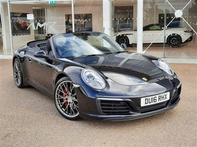 used Porsche 911S 2dr PDK convertible 2016
