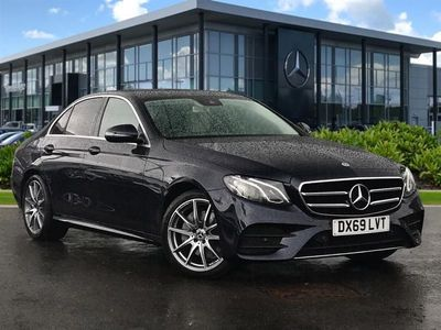 used Mercedes E220 E CLASSAmg Line Edition 4Dr 9G-Tronic diesel saloon
