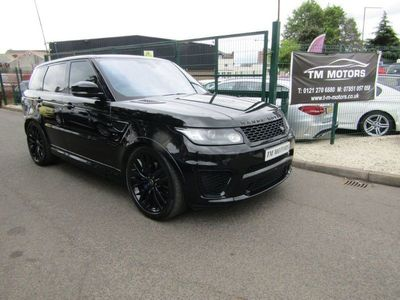 used Land Rover Range Rover Sport 5.0 V8 SVR Auto 4WD (s/s) 5dr