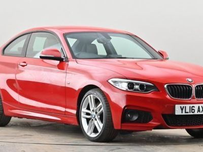 used BMW 228 2 SERIES i M Sport 2dr Red Manual Petrol