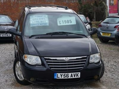 used Chrysler Grand Voyager Crd Grand Limited Xs 2.8 5dr