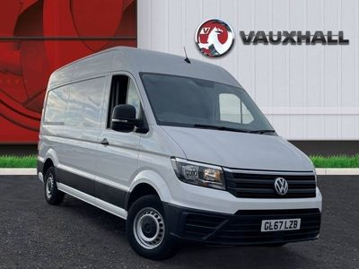used VW Crafter CR35 2.0 TDI 102PS MWB HIGH ROOF STARTLINE