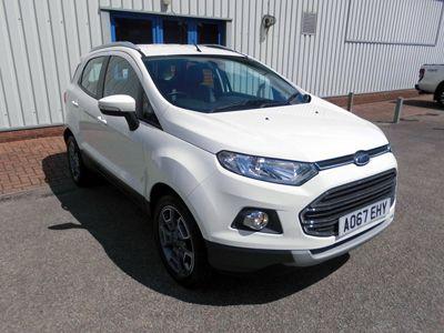 used Ford Ecosport Titanium X