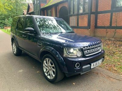 used Land Rover Discovery 4 3.0 SD V6 SE LCV Auto 4WD 5dr
