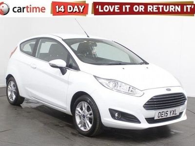 used Ford Fiesta 1.2 ZETEC 3d 81 BHP Your dream car can become a reality with cartime's fantastic finance deals.