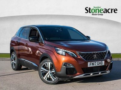 used Peugeot 3008 1.6 Bluehdi 120 Gt Line 5Dr