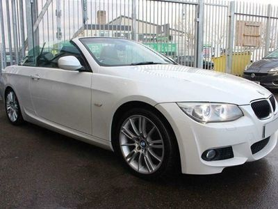 used BMW 320 3-Series Convertible d M Sport (2010) 2d