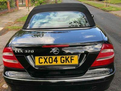used Mercedes CLK320 CLK 3.2Elegance Cabriolet 2dr