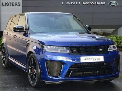 used Land Rover Range Rover Sport 5.0 V8 S/C 575 Svr 5Dr Auto